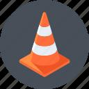 alert, cone, under construction