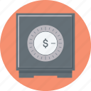 bank, deposit, money, protection, safe icon