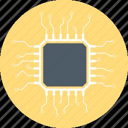 chip, cpu, processor icon
