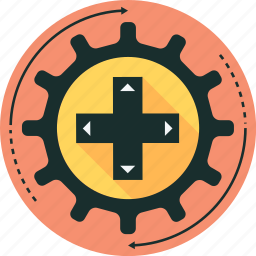 game, game controller, game development, joypad icon