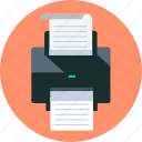 file, print, printer icon