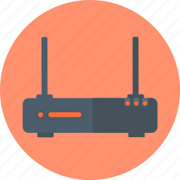 network, server, wi-fi, wireless, wireless router icon
