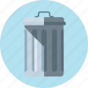 basket, trash, trash bin icon