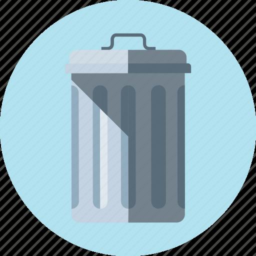 basket, trash, trash bin icon
