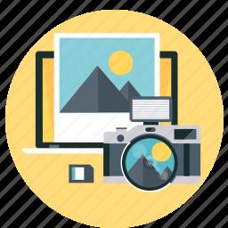 camera, editting, photo, picture icon