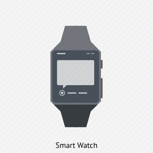 clock, electronic, smart watch, time, watches, wristwatch icon