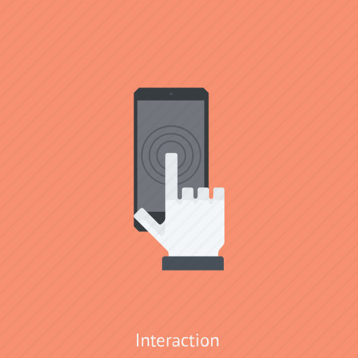 phone, smartphone, telephone, touch screen phone icon