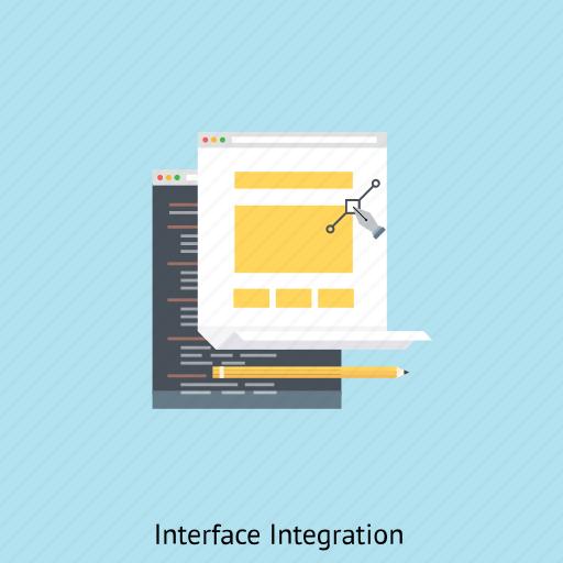 browser, computer, interface integration, programming, ui design, ux design, web design icon
