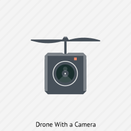 camera, drone, fly, helicopter, remote control, spy icon