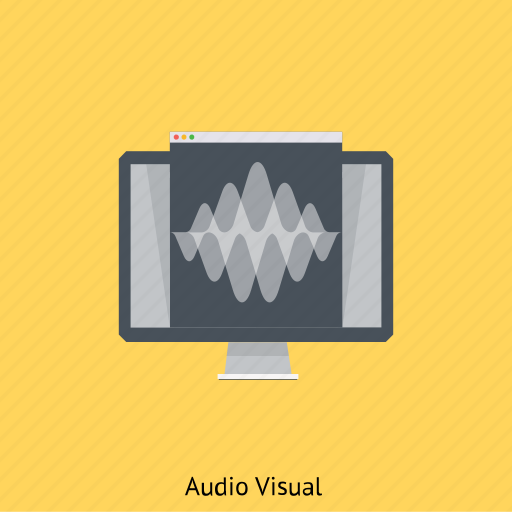 audio, audio visual, music, projection, sound, speaker, volume icon