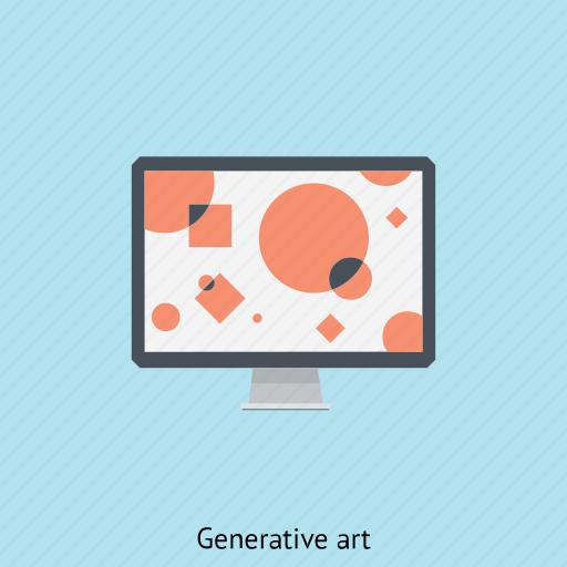 animation, coding, computer, generated, generative art, programming, random icon