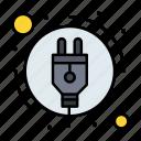 consumption, energy, plug, power icon