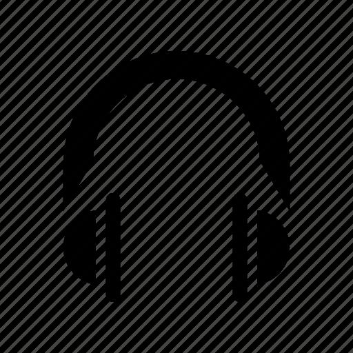 earphone, headphone, headphones, listen icon