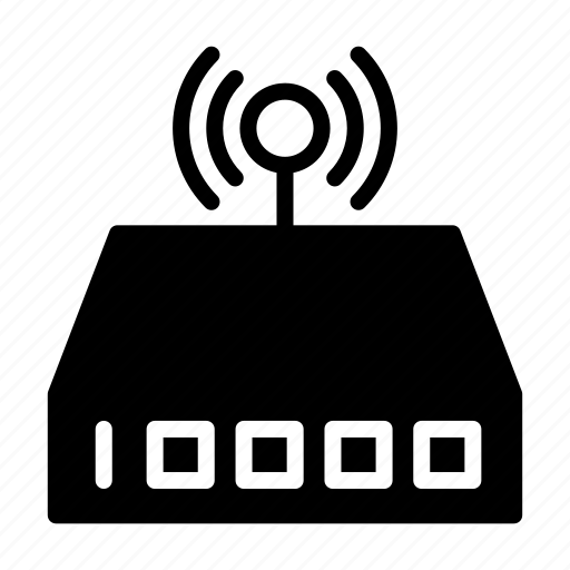 antenna, router, technology, wifi, wireless icon