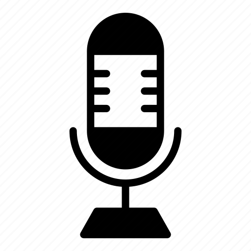 microphone, recording, speak icon