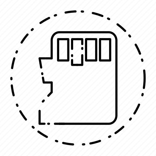 card, memory, save, sd icon