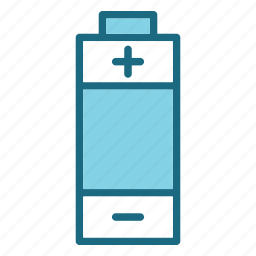 battrey, device, multimedia, technology, technology & multimedia icon