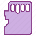 card, device, multimedia, sd, technology, technology & multimedia icon