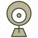 camera, device, eye, multimedia, technology, technology & multimedia icon