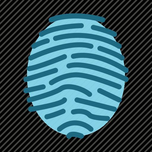 device, fingerprint, multimedia, technology, technology & multimedia icon