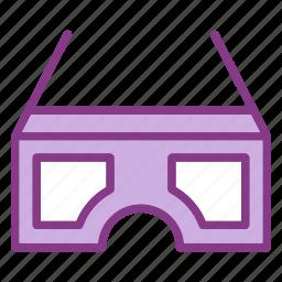 device, glasses, multimedia, technology, technology & multimedia icon
