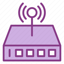 device, multimedia, router, technology, technology & multimedia, wifi icon