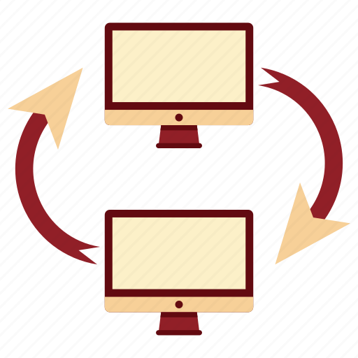 change, communication, device, electronic, tecnology, transfer, transfer icon icon