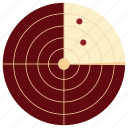 communication, device, electronic, radar, radar icon, ship, tecnology icon