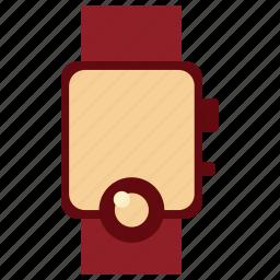 clock, communication, device, electronic, smartwatch, smartwatch icon, tecnology icon