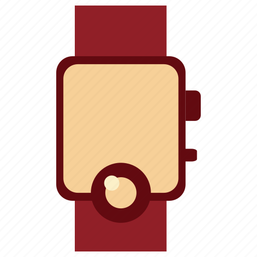 clock, communication, device, electronic, smartwatch, smartwatch icon, tecnology icon