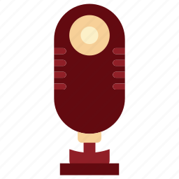 communication, device, electronic, microphone, microphone icon, sing, tecnology icon