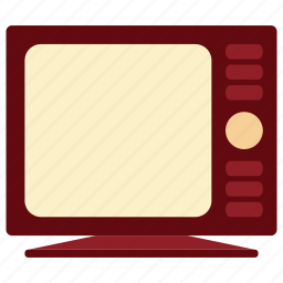 communication, device, electronic, information, tecnology, television, television icon icon