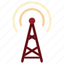 antenna, communication, signal, antenna icon, tecnology, device, electronic icon