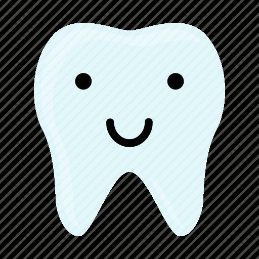 dental, dentist, emoji, hygiene, smile, teeth, tooth icon