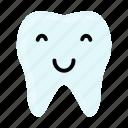 dental, dentist, emoji, hygiene, smiley, teeth, tooth icon
