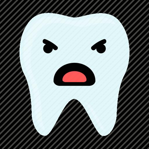 dental, dentist, emoji, hygiene, teeth, tooth icon