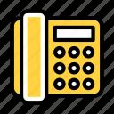 telephone, landline, receiver, communication, talk