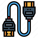 cable, connection, device, hdmi, technology
