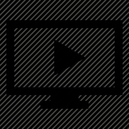 hdtv, led tv, netflix, television, tv, tv show, video playback icon