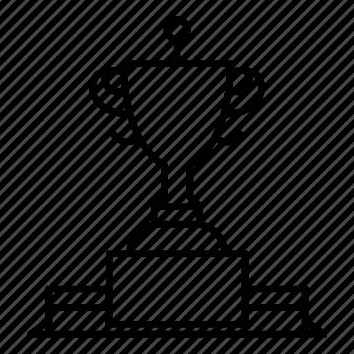 award, club, sport, tennis icon