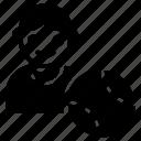 player, soccer player, sportsman, sportsperson, tennis player icon