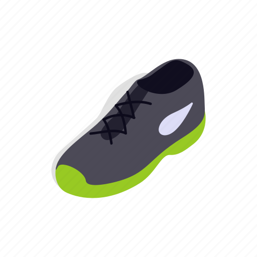 foot, footwear, isometric, running, shoe, sport, tennis icon