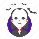 fear, halloween, killer, mask, puppet icon