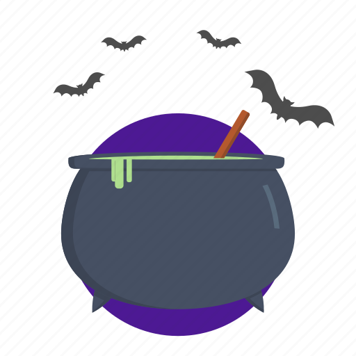 cooking, halloween, poison, witch icon