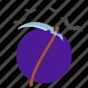 blade, death, halloween, scythe