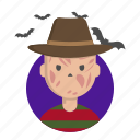 freddy, halloween, nightmare, skin, terror icon