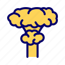 bomb, explossion, nuclear, war icon