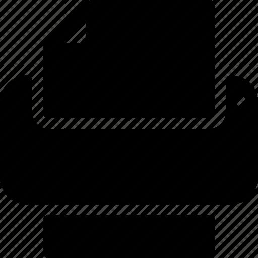 editor, paper, print, printout, text icon