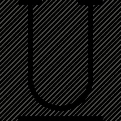 Underline, file, font, format, text icon - Download on Iconfinder
