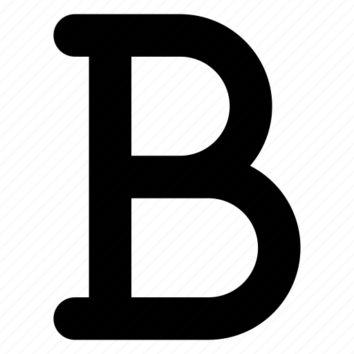 bold, font, type, typography icon
